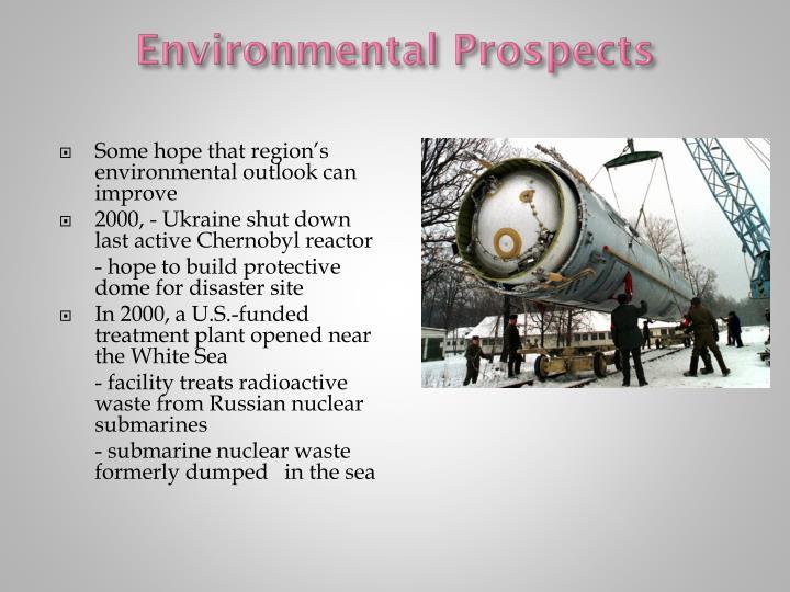 Environmental Prospects