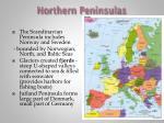 northern peninsulas