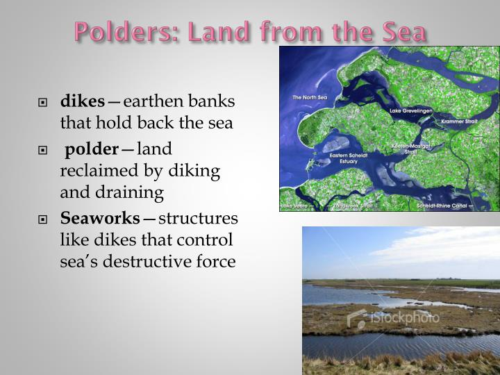 Polders: Land from the Sea