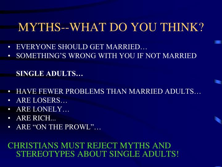 Myths what do you think