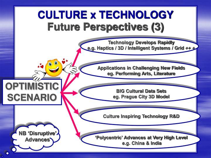 CULTURE x TECHNOLOGY