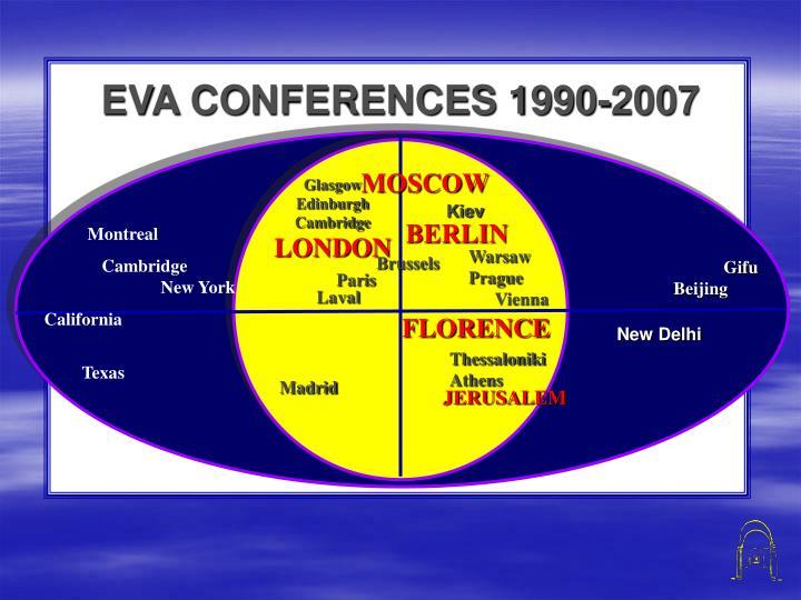 EVA CONFERENCES 1990-2007