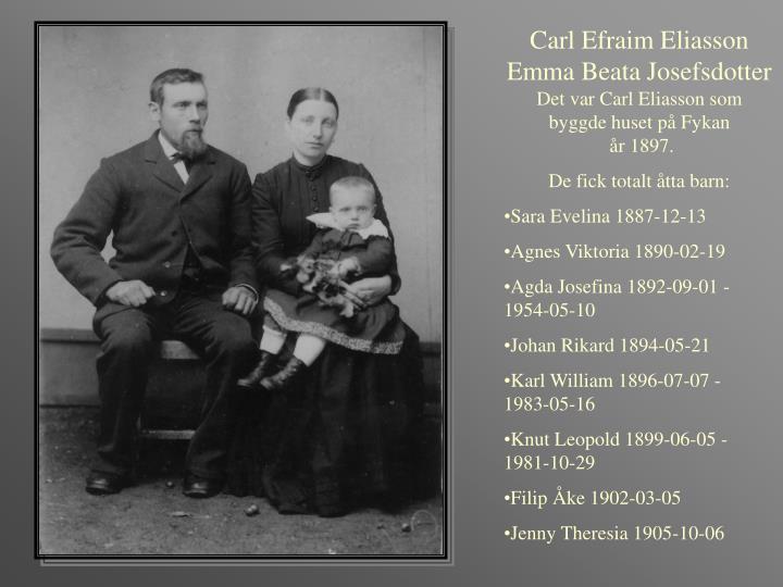 Carl Efraim Eliasson