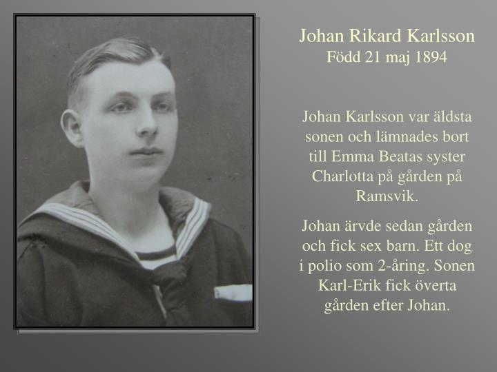 Johan Rikard Karlsson