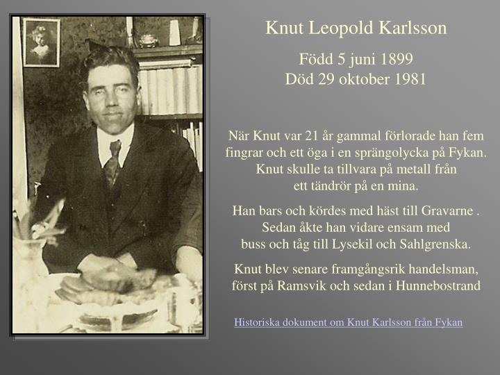 Knut Leopold Karlsson