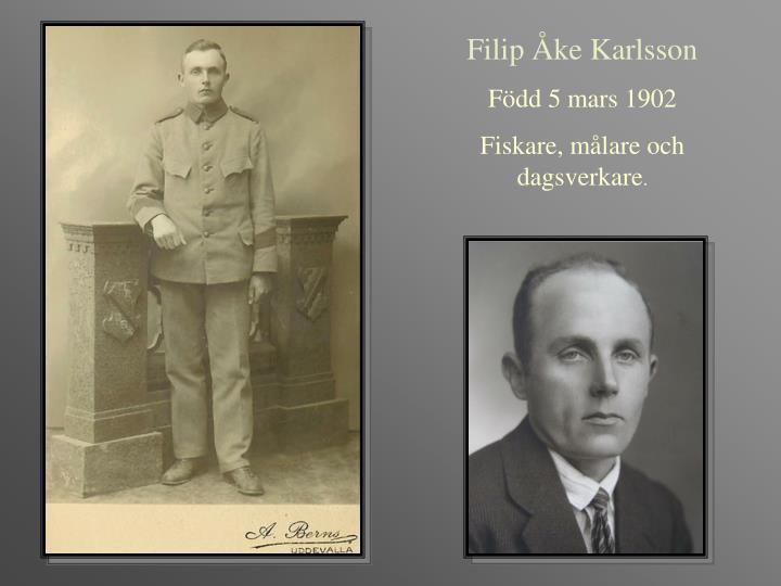 Filip Åke Karlsson