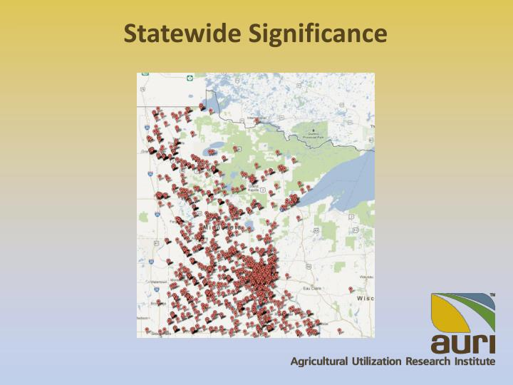 Statewide Significance