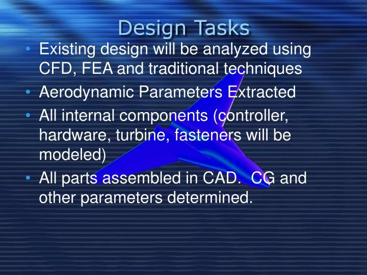 Design Tasks