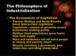 the philosophers of industrialization1