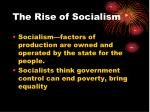 the rise of socialism1