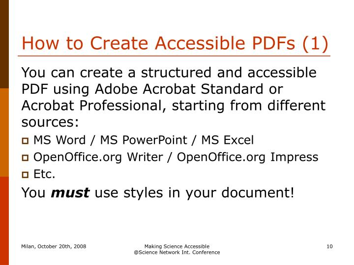 How to Create Accessible PDFs (1)