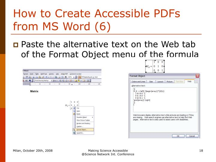 How to Create Accessible PDFs from MS Word (6)