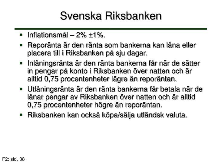 Svenska Riksbanken