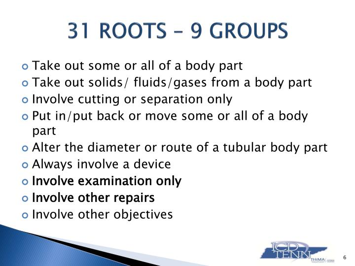 Ppt Introducing Icd 10 Pcs Root Operation Group 7