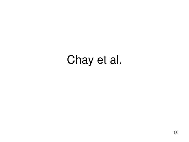 Chay et al.