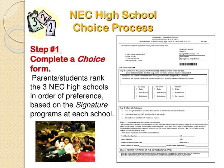 NEC High School