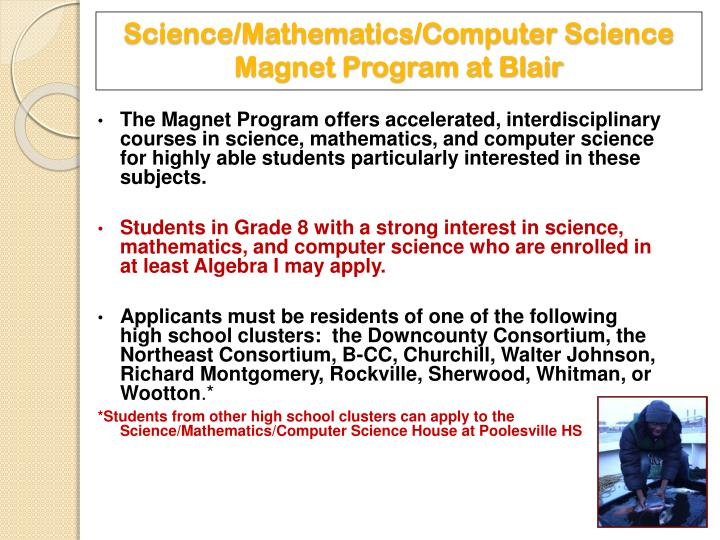 Science/Mathematics/Computer Science