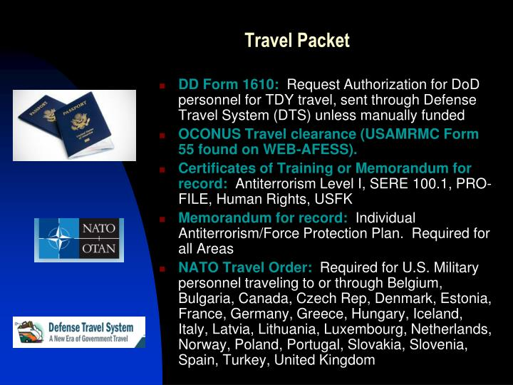 Ppt Overseas Travel Force Protection Operation