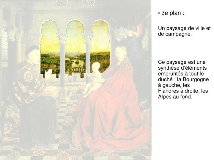 3e plan :