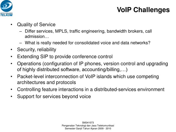 VoIP Challenges