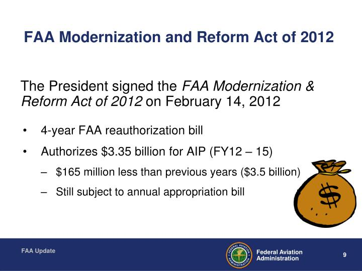 FAA Modernization and Reform Act of