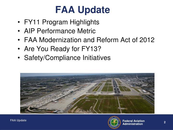 FAA Update