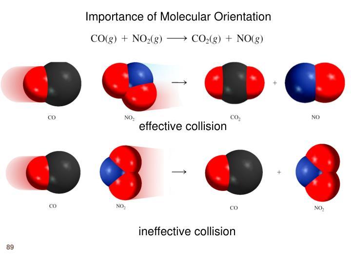 Importance of Molecular Orientation
