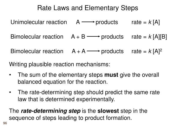 Unimolecular reaction