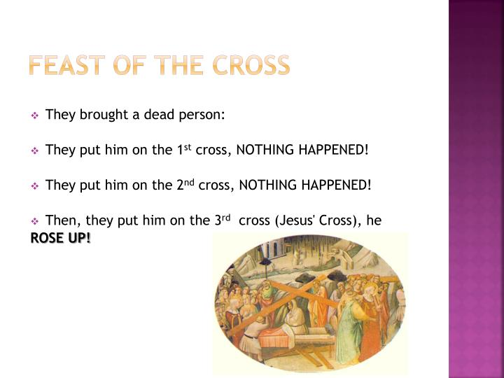 Feast of the Cross
