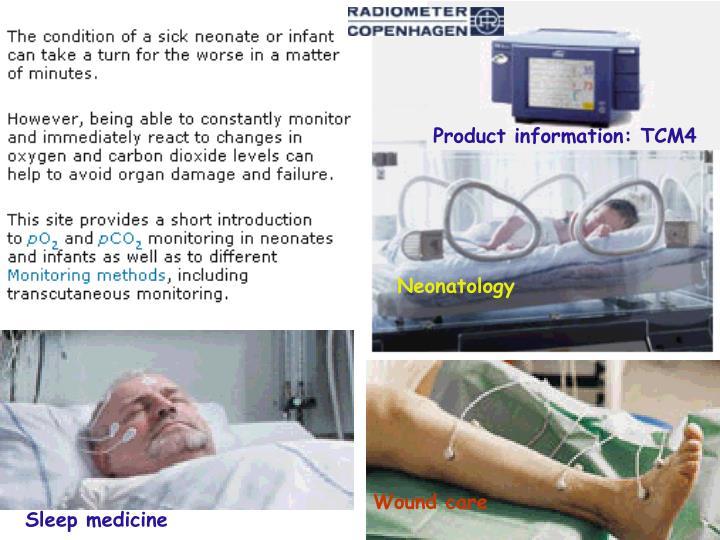 Product information: TCM4