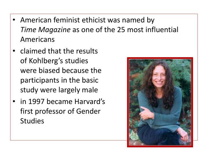 American feminist ethicist