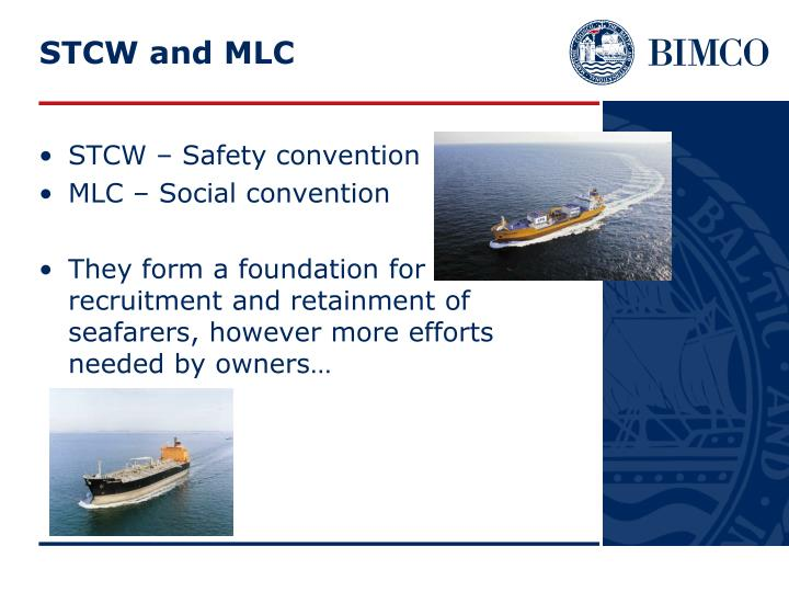 STCW and MLC