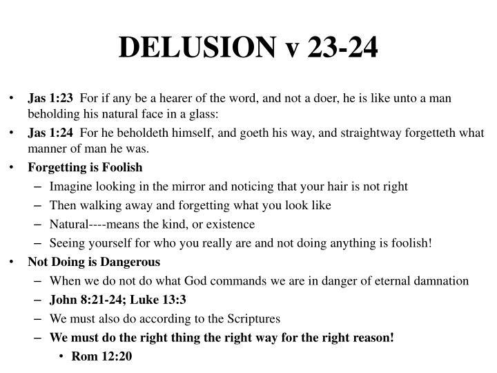 DELUSION v 23-24