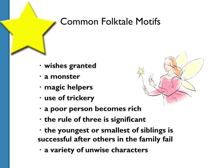 Common Folktale Motifs