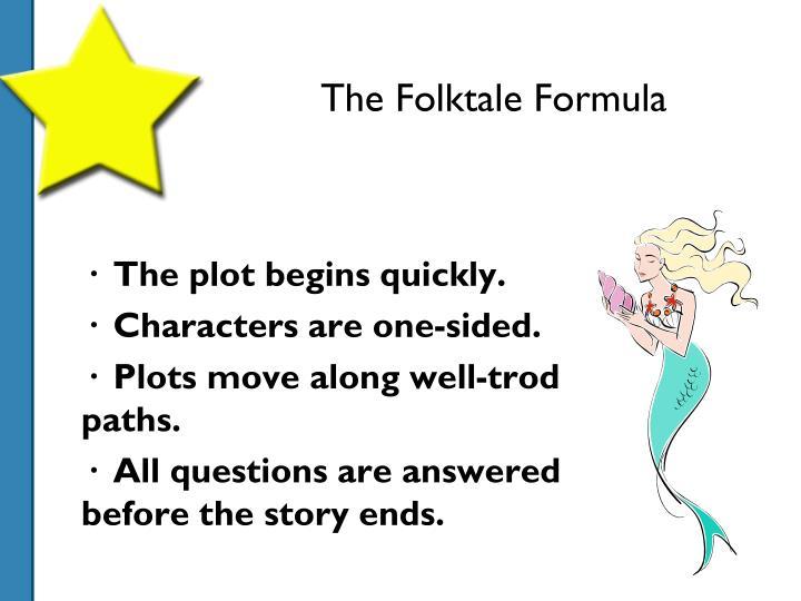 The Folktale Formula