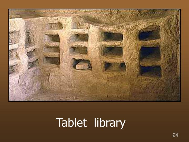 Tablet  library