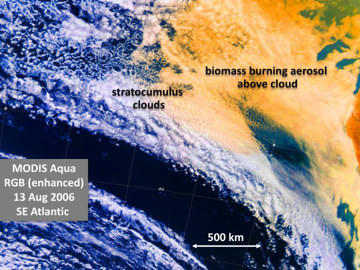 biomass burning aerosol