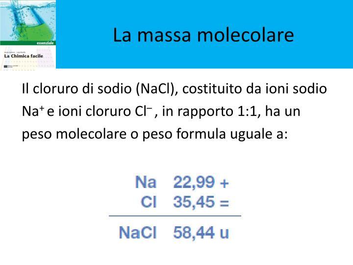La massa molecolare