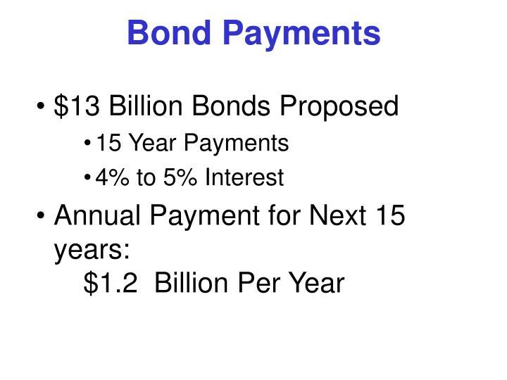 Bond Payments
