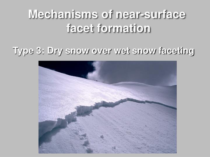 Mechanisms of near-surface