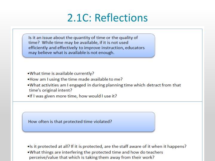 2.1C: Reflections