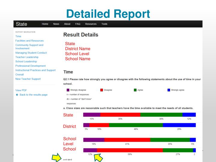 Detailed Report