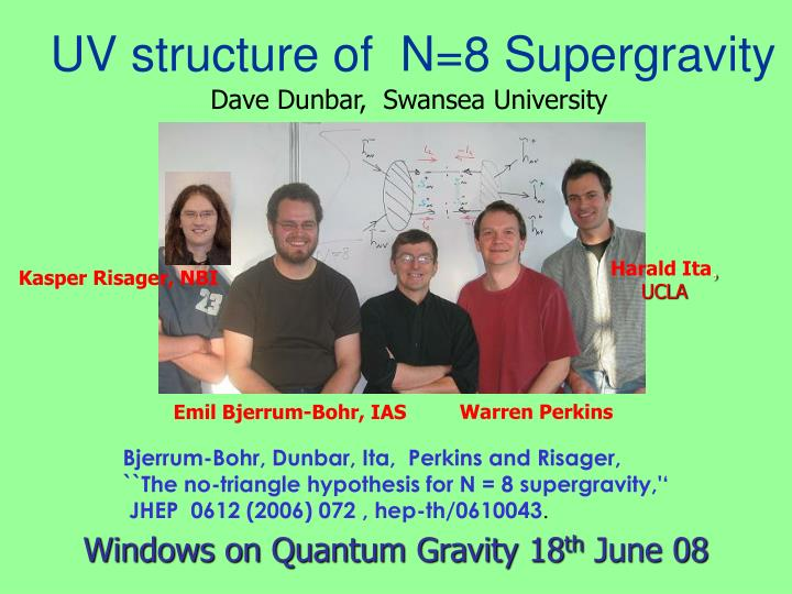 Uv structure of n 8 supergravity