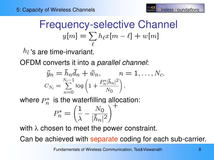 Frequency-selective Channel