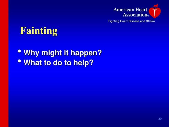Fainting