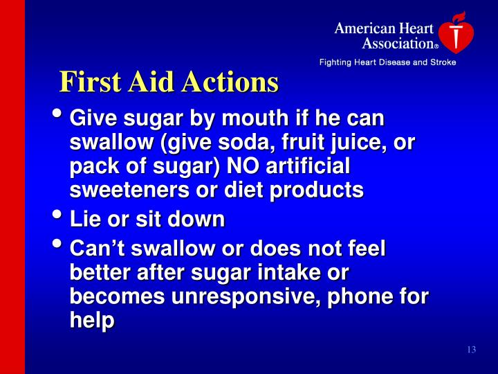 First Aid Actions