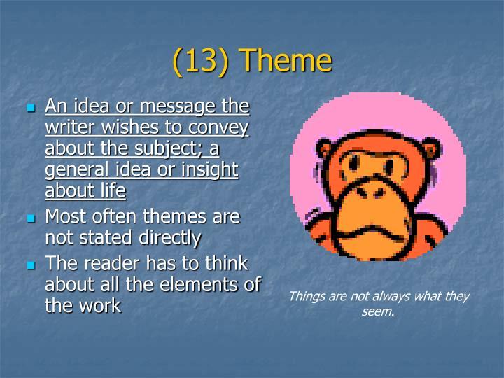(13) Theme