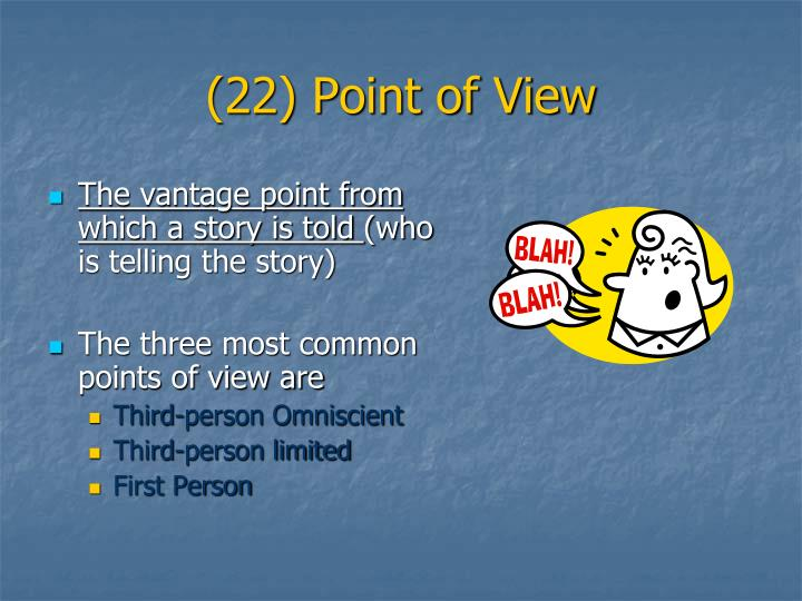 (22) Point of View