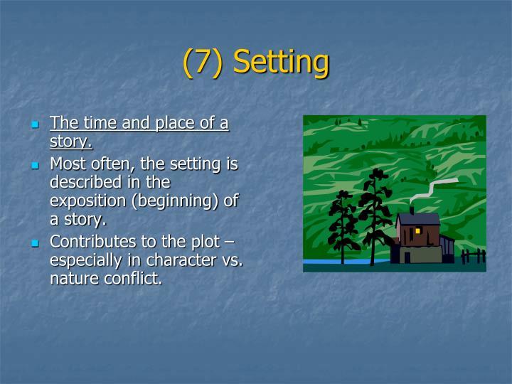 (7) Setting