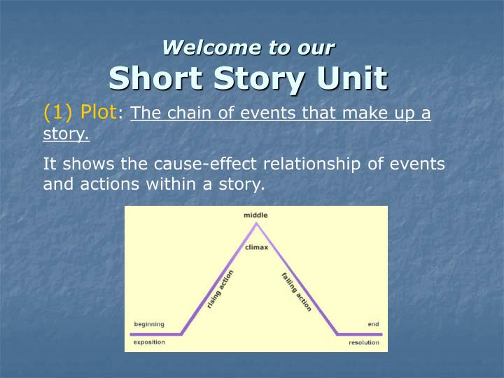 welcome to our short story unit